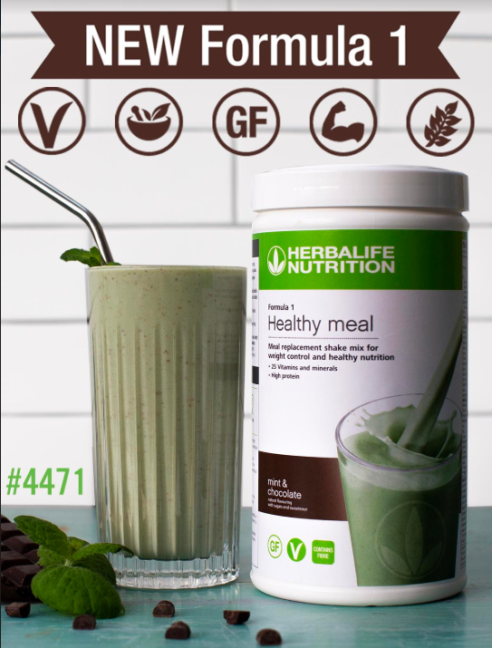 NEW Formula 1 Nutritional Shake Mix Mint & Chocolate