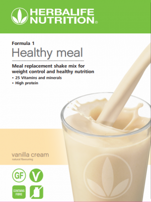 NEW Formula 1 Nutritional Shake Vanilla Cream