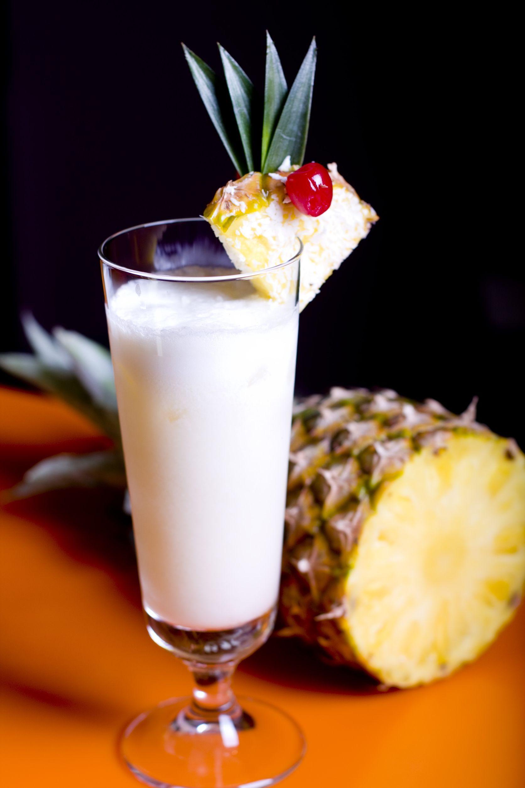 Pineapple Orange Coconut Shake